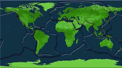 Tectonic Plates Earthquakes Earth Plate Gifs Boundaries