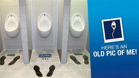 toilet with 25 creative durex advertisement that are quite impressive