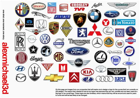 American Automobile Manufacturer Logos
