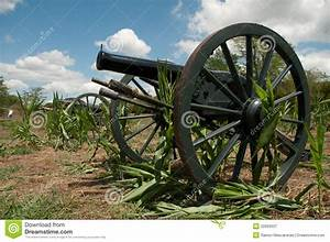 Old American Civil War Cannons Stock Image - Image: 22959337