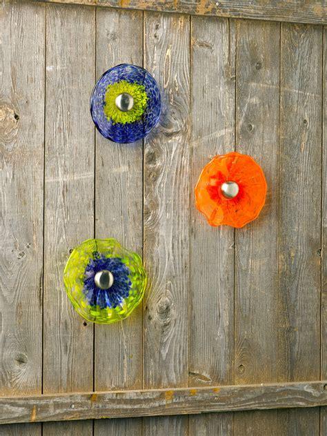 """Viz Glass Fence Flower, 5""""  Glass Garden Art Gardenerscom"""