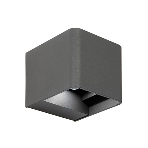 up and down wall lights el 40072 led adjustable up and down wall light