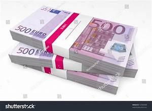 50 000 Euro Haus : three packet 500 euro notes bank stock illustration 72586408 shutterstock ~ Markanthonyermac.com Haus und Dekorationen