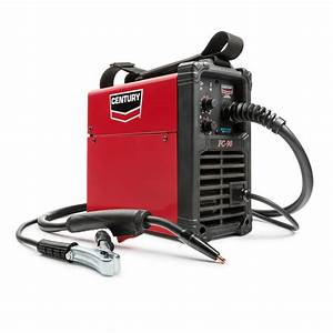 Century 90 Amp Fc90 Flux Core Wire Feed Welder And Gun