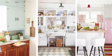 vintage kitchen design ideas 20 vintage kitchen decorating ideas design inspiration