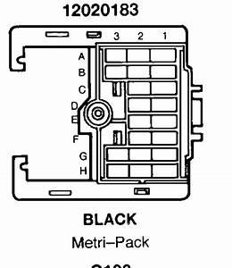 Carfusebox  Chevy S10 Blazer Alternator To C100 Connector