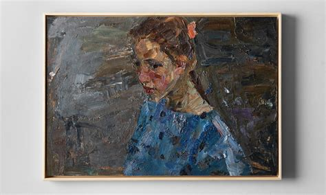 Oil Painting of a Young Girl :: Obsolete