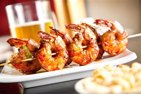 brochettes de crevettes marinees recette az