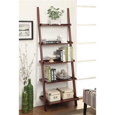 Studio 350 Metal Wood Leaning Shelf 20 Inches Wide 77 High