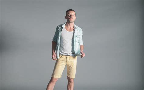 free of casual fashion man