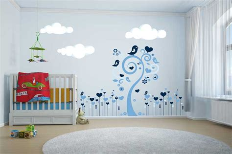 idee deco chambre fille stickers