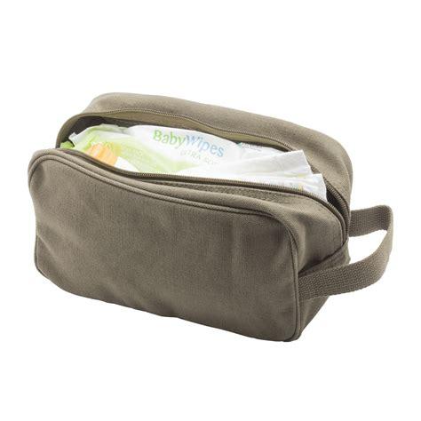 siege backet bond 007 canvas shower kit travel toiletry bag