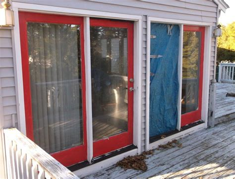 sliding glass patio door replacement scituate ma winstal