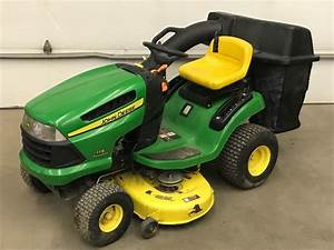 John Deere 115 Lawn And Garden Tractor Service Manual