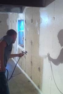 Drylok Concrete Floor Paint by Basement Waterproofing Paint Does It Stop Leaks On