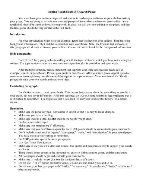 essay draft     types outlines  samples research sample outline