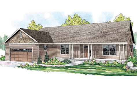 ranch house plans fern view    designs