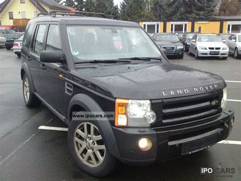 land rover discovery 2007 2007 land rover discovery td v6 aut se car photo and specs