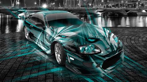 toyota supra jdm anime bleach aerography city car
