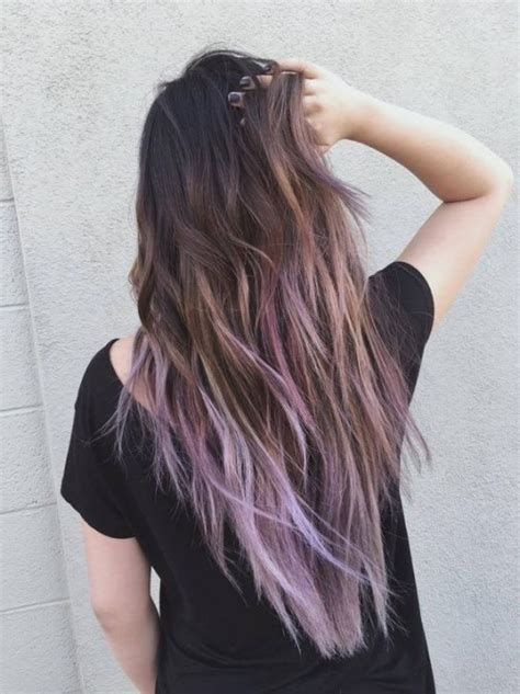 purple balayage  herinterestcom