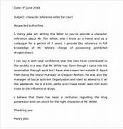 Sample Character Reference Letter For Court Best Sample Character Reference Letter 6 Documents In PDF WORD Sample Character Reference Letter For Court Appearances 7 Character Reference Letter Templates Free Sample