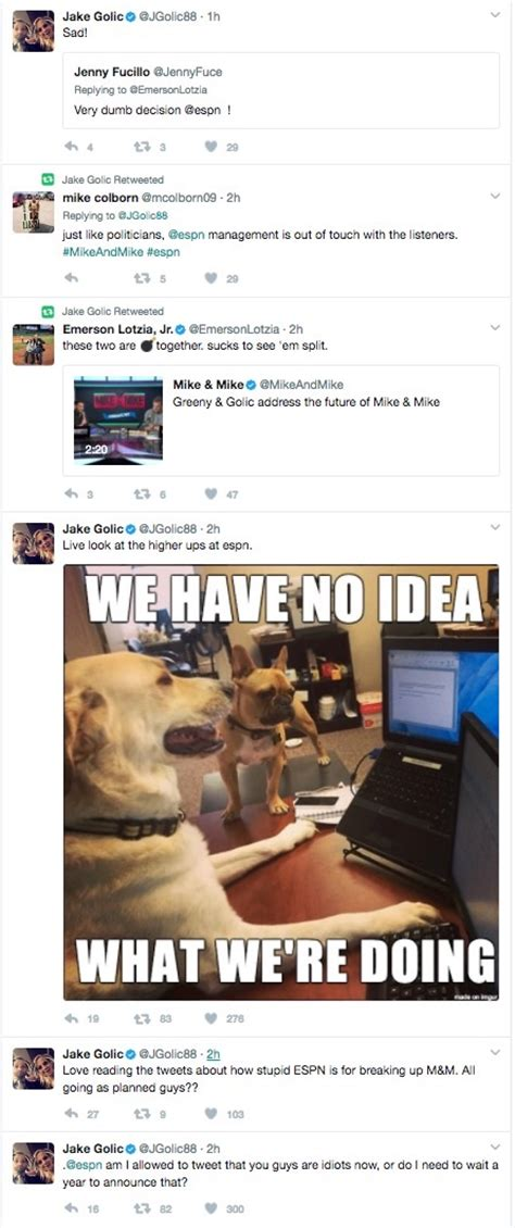 Mike Golic's son Jake blasted ESPN