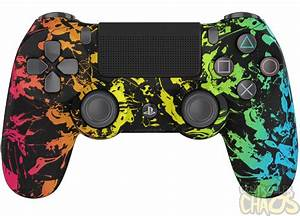 Neon Plunge PlayStation 4 Custom Controllers