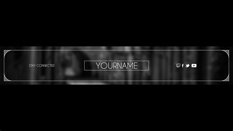 banner template no text twitch banner maker free banner maker for the rest of us with twitch banner maker twitch