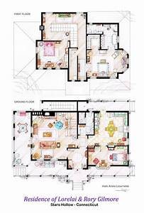 Floor, Plans, Of, Homes, From, Famous, Tv, Shows