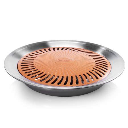 gotham steel nonstick indoor stove top grill bbq healthy