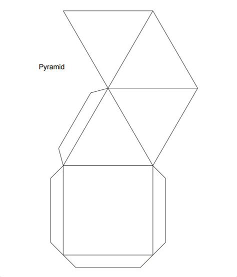 amazing pyramid templates   word