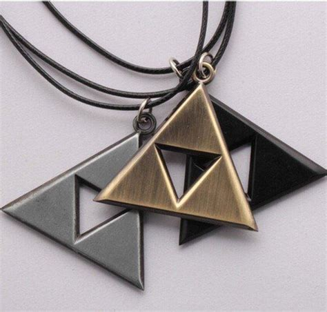 legend  zelda triforce necklace  dragon shop