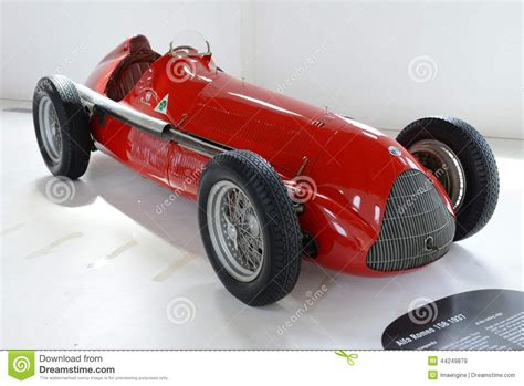 vintage alfa romeo race cars alfa romeo 159 m monoposto racing car editorial stock