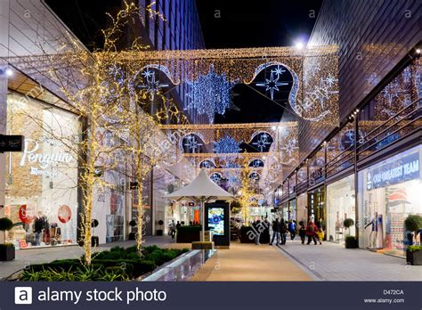 christmas decorations in wandswarth shopping centre london uk stratford westfield shopping center stock photo 54245306 alamy