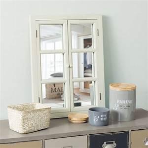 Maison Du Monde Miroir Fenetre 2 Ides De Dcoration