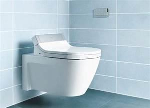 Dusch Wc 24 : duravit sensowash starck c dusch wc sitz einsatzbeispiel auf wc keramik ~ Markanthonyermac.com Haus und Dekorationen