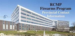 Firearms Program Provincial Contact Information