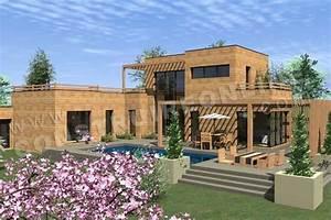 Maison Bois Contemporaine : vente de plan de maison ~ Preciouscoupons.com Idées de Décoration