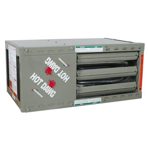 modine dawg garage heater modine dawg heater model hd qc supply