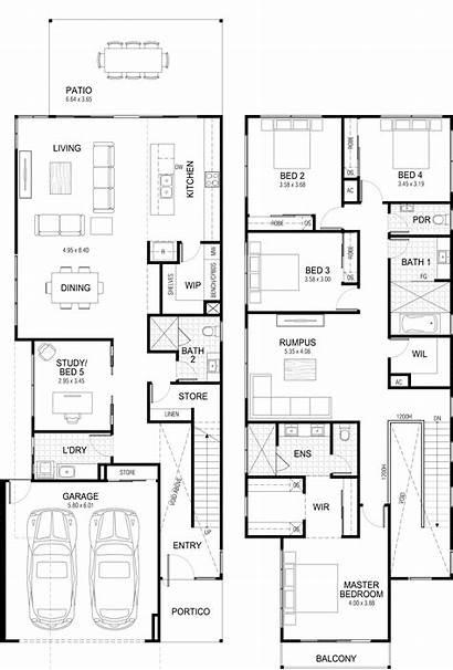 Storey Plans Floor Plan Double Designs Bedroom