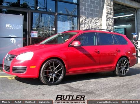 Vw Jetta With 19in Niche Targa Wheels Exclusively From