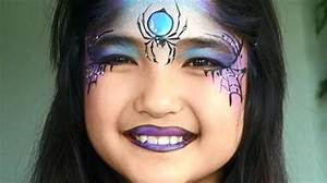 Maquillage D Halloween Pour Fille : maquillage halloween facile pour petite fille cotillonsetdeguisements ~ Melissatoandfro.com Idées de Décoration