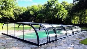 Abri Piscine Haut : abri piscine mi haut mod les t lescopiques coulissants ~ Zukunftsfamilie.com Idées de Décoration