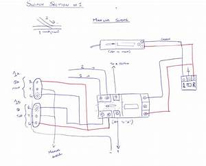 Sketch Of Wiring Diagram For Trackside Signals