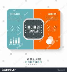 Vector Infographics Template For Chart  Diagram  Web
