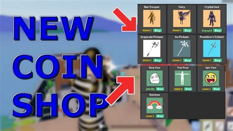 coin shop roblox strucid youtube
