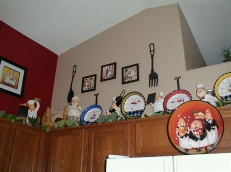 fat chef kitchen decor with kitchen wall border