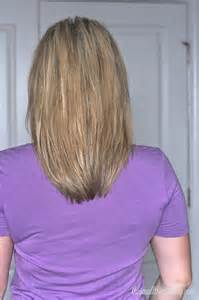 Medium Length Layered Hairstyles Back View