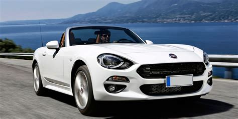 Fiat 124 Spider Review Carwow