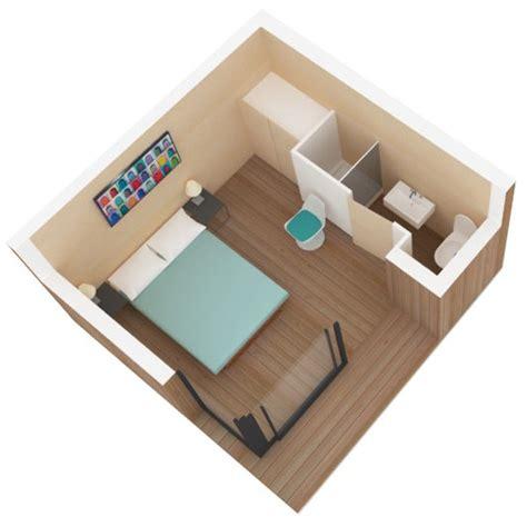 plan chambre 12m2 chambre d 39 amis compacte 12 m2